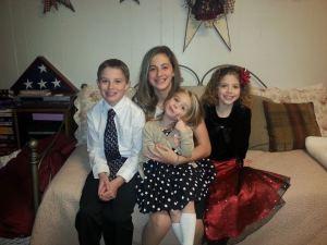Noah, Hannah, Vivian, and Sarah