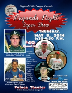 Legends Night Flyer 2014 with logos